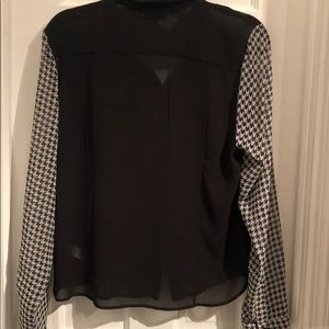 Topshop sheer long sleeve